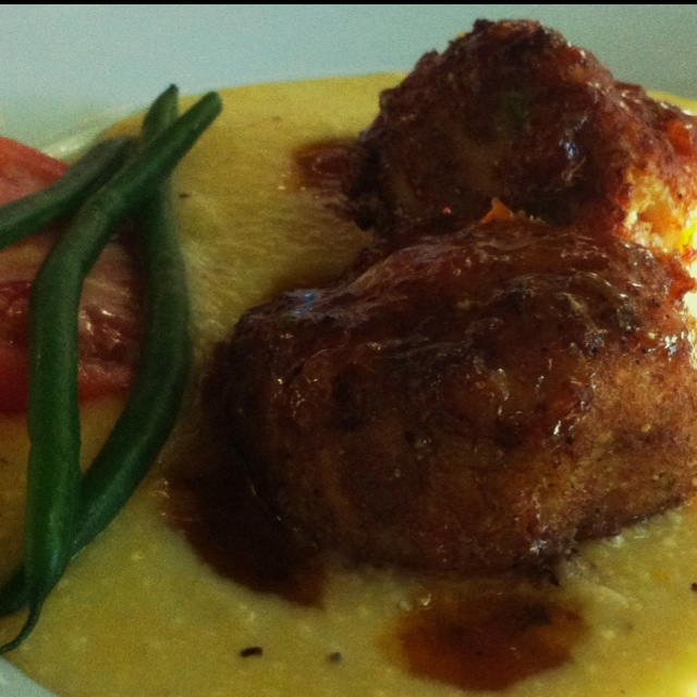 Crabcakes and Creamy Grits | Grits n stuff | Pinterest