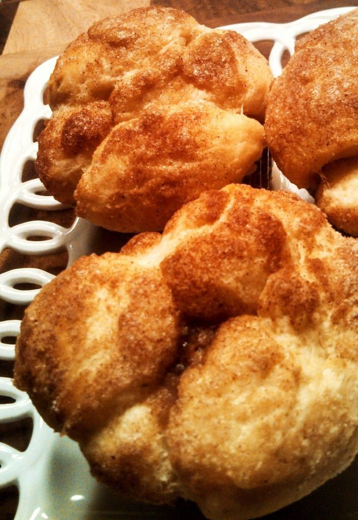 Monkey Bread Muffins ~ Pearls + Girls | Breakfast Foods | Pinterest