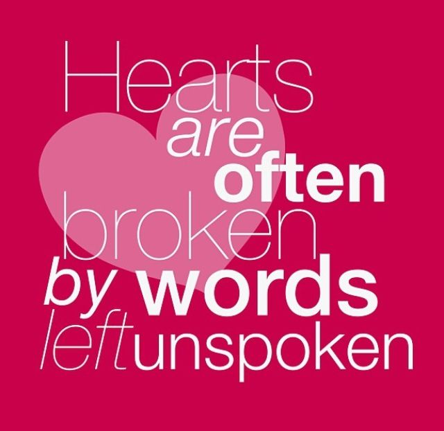 Words Left Unspoken