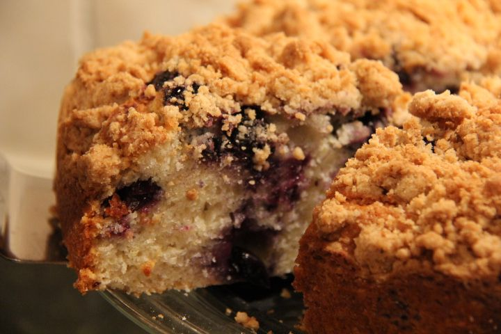 blueberry crumb cake | Recipes: Need to make yet | Pinterest