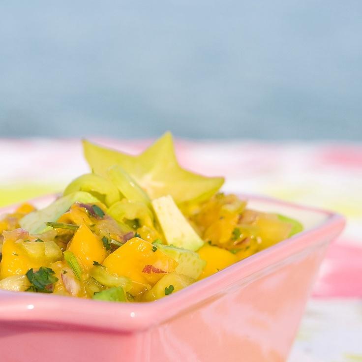 ... this: mango pineapple salsa , pineapple salsa and banana peppers