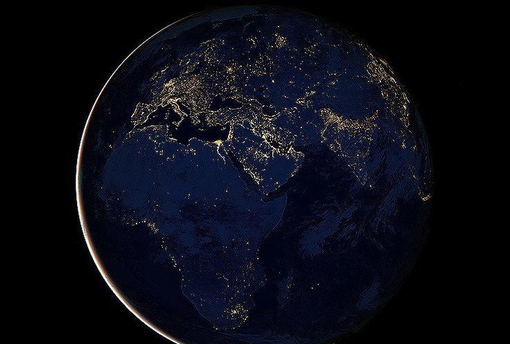 nasa world at night - photo #14