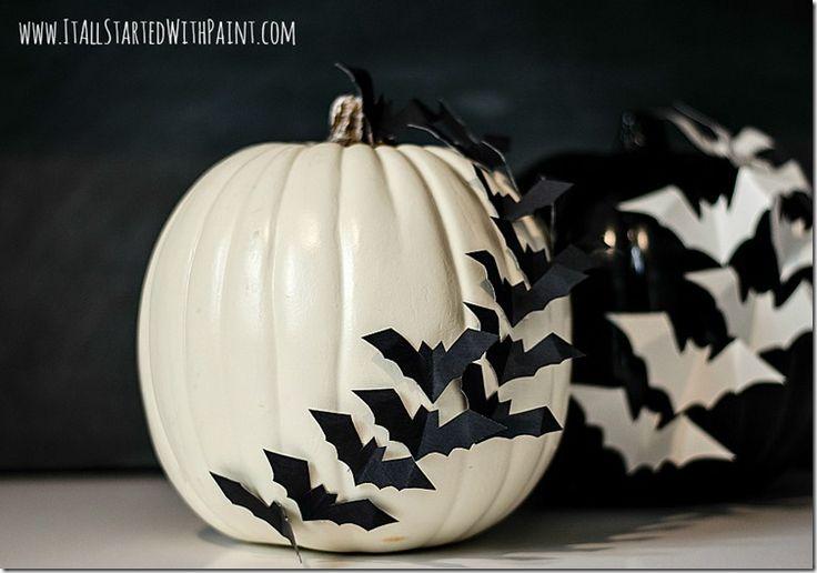 Bats-On-Pumpkin-No-Carve 2