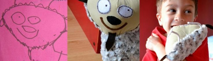 Child's Own Studio - Turn your child's artwork into a stuffed toy :)