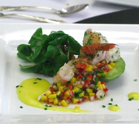 Tea-Smoked Shrimp Salad With Mango Recipes — Dishmaps
