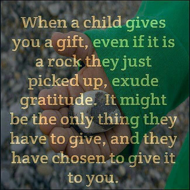 Child's Gift | Great Sayings | Pinterest
