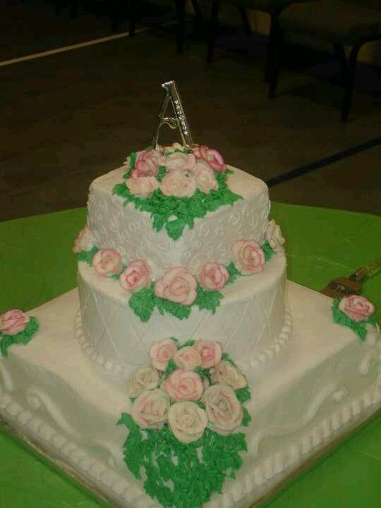 Wedding Cake All Buttercream Frosting My Cakes Pinterest