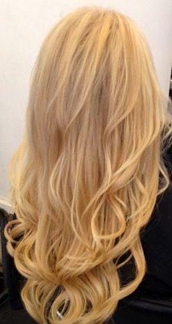 Wavy Blonde Hair #hair | Hair | Pinterest