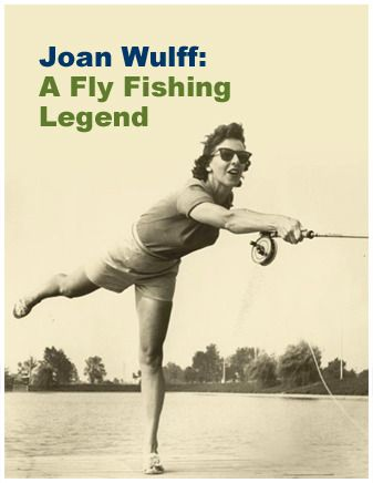 Joan a fly casting legend!