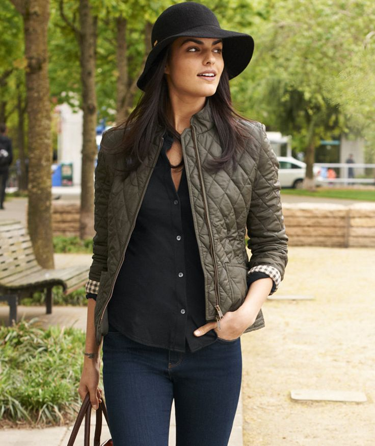 Quilted Jacket: BLAZERS and OUTERWEAR | Free Shipping at L.L.Bean