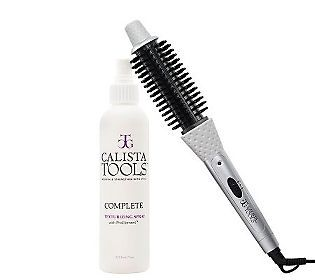 ... Nominee} Calista Tools Perfecter Heated Round Brush & Texture Spray