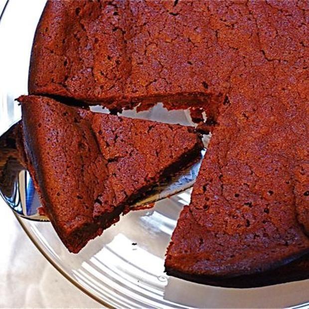 Flourless Dark Chocolate Cake | Recipes to Cook | Pinterest