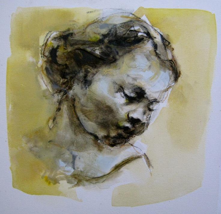 Portrait Title: Fragile 40x40