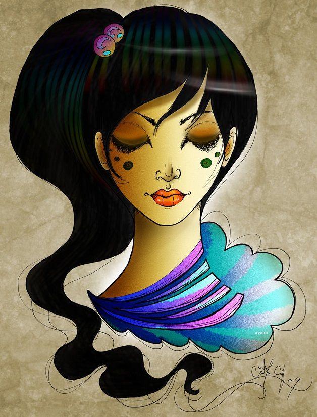 Pinturas Digital por Aya Ibrahim -Parte 5