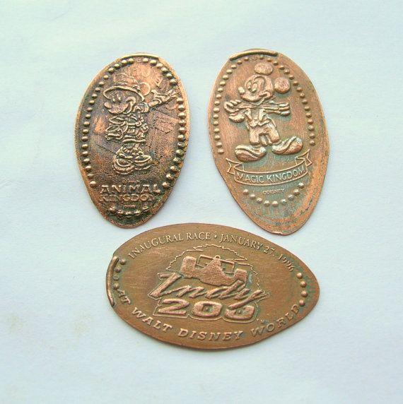 pressed penny machines magic kingdom
