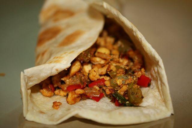 Tofu Scramble - Mexican Style (vegan, gluten-free) - Vegetarian ...