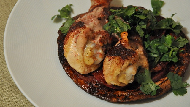 Roasted Sumac Chicken Atop Pita and Onions by Turntable Kitchen on ...