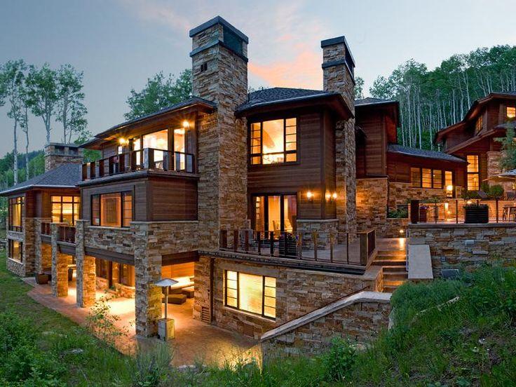 Contemporary ski home in park city utah dream homes for Utah house