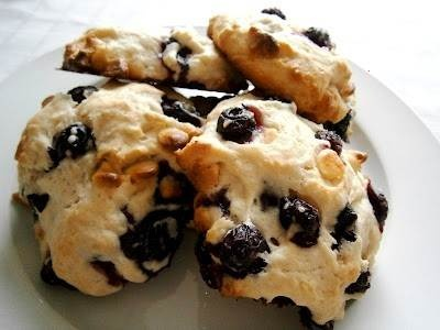 blueberry white chocolate scone!! the perfect treat for breakfast on ...
