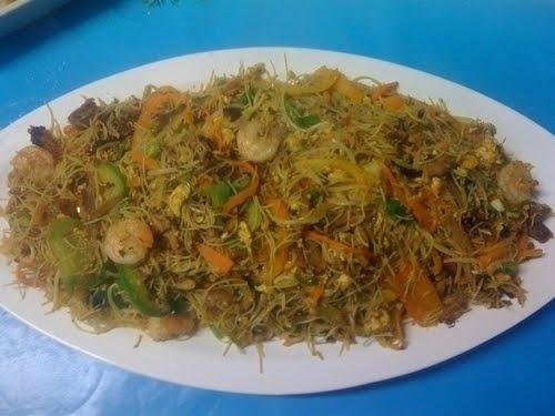 Singapore Fried Rice Noodles Recipe Recipes — Dishmaps