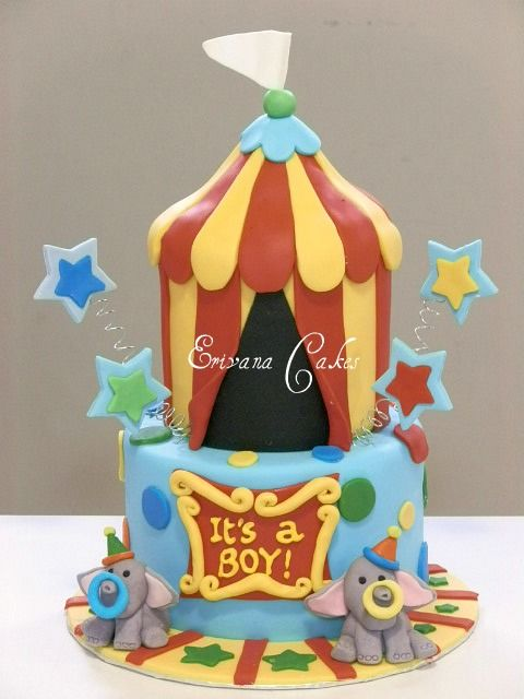 circus themed baby shower cake 28 baby shower pinterest