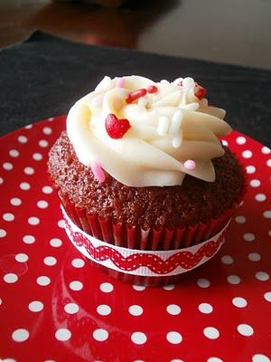 Red Velvet Cupcakes Adapted from Martha Stewart Cupcakes Makes 24 ...
