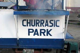 ¿Jurassic Park? ¡Churrasic Park!