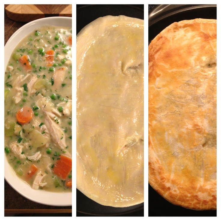 Skinny Chicken Pot Pie | Cooking With The Clores