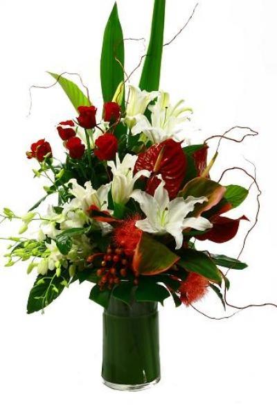 Christmas Flowers Yuletide Joy Decorating 2 Pinterest