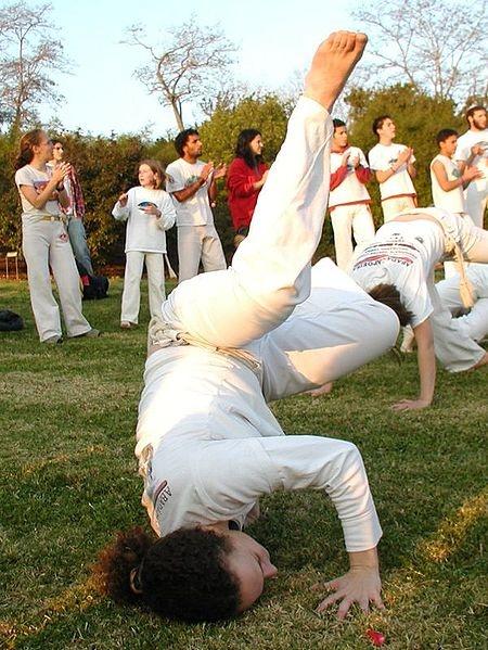 Capoeira Queda de Rins