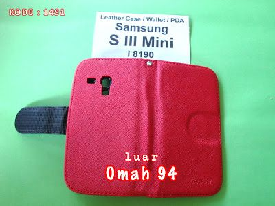 Jual PDA Wallet Book Leather Case Samsung Galaxy S3 Mini  | Samsung