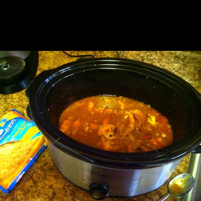 Zesty Herbed Chicken Broth Recipe — Dishmaps