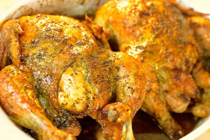 Garlic Herb Roasted Chicken | Recipes To Try | Pinterest