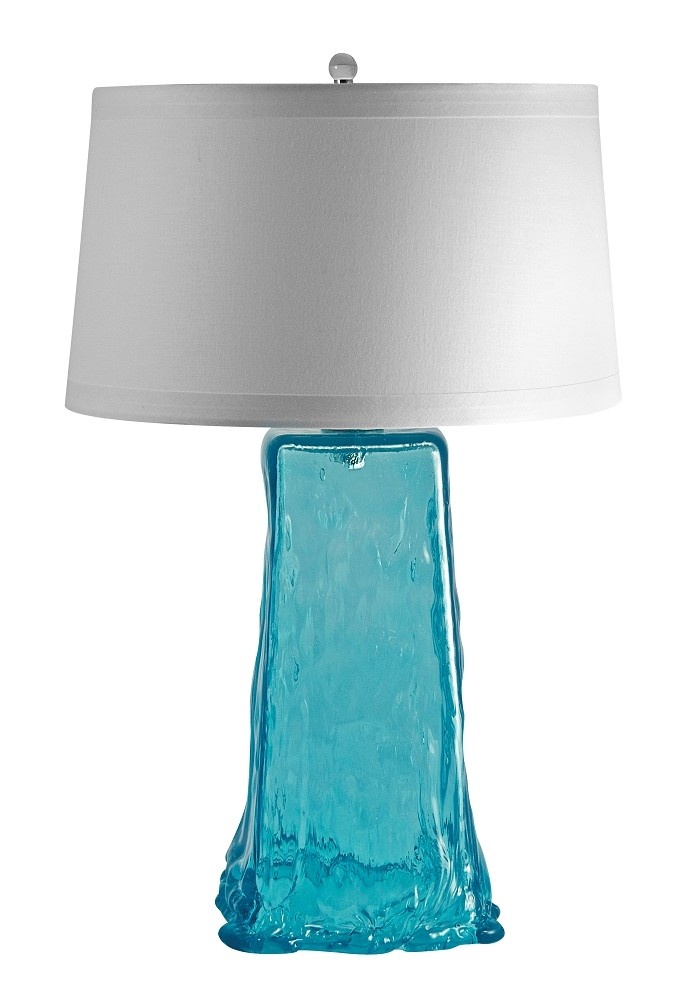 aqua wave glass lamp back on our site beach pinterest. Black Bedroom Furniture Sets. Home Design Ideas