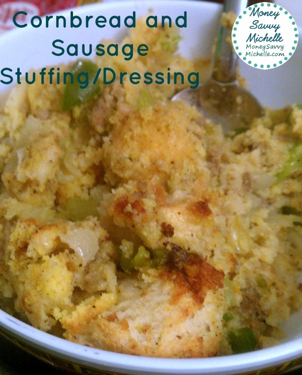 Cornbread and Sausage Dressing or Stuffing #Recipe perfect for # ...