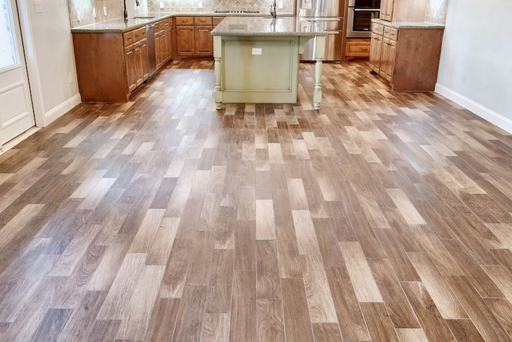 Tile floor made to look like wood for the home pinterest for Floors that look like wood