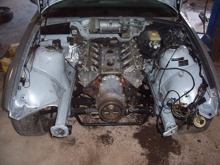Gm L33 Engine Swap Into Bmw E36 Bmw Car Pinterest