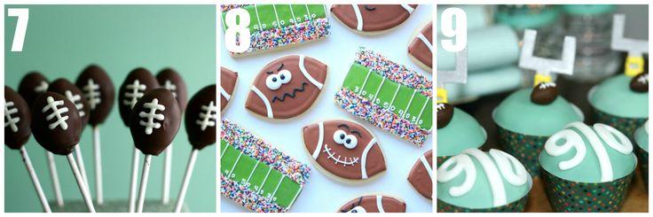 Fabulous football dessert ideas!