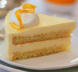 Meyer Lemon Mousse Cake | 1.♥ this | Pinterest