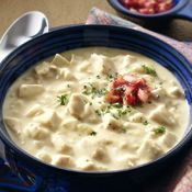Curried Cream of Turkey Soup, Recipe from Cooking.com