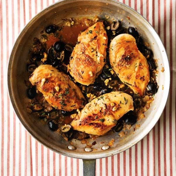 California Chicken with Olives and Walnuts Another yummy recipe to ...