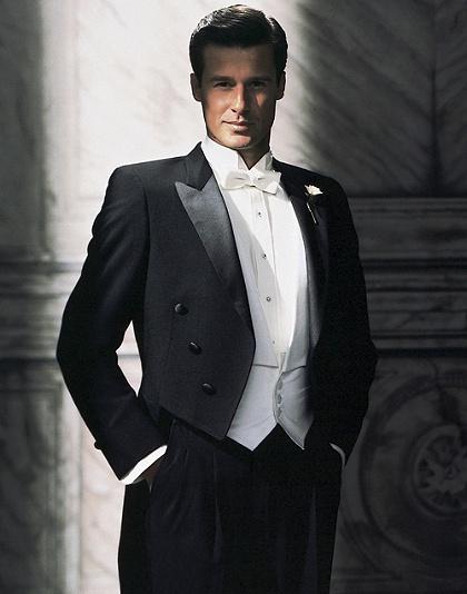 Old Fashioned Wedding Tuxedo