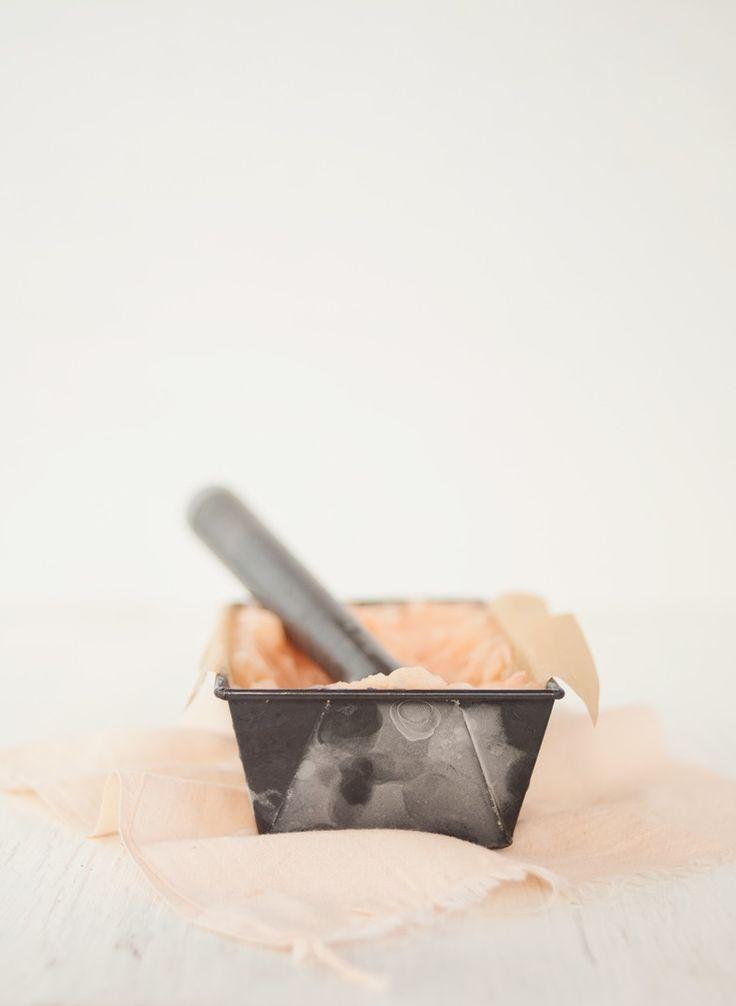 grapefruit sorbet Substitute stevia or raw honey for sugar or coconut ...