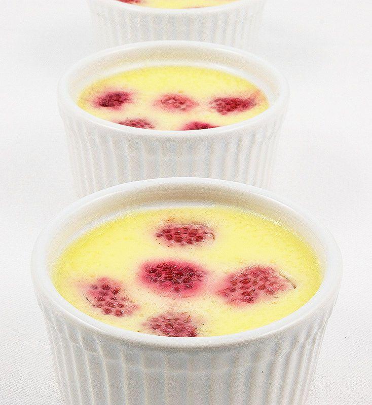 baked raspberry custard, Grand Marnier® and Raspberry Vanilla Custard ...