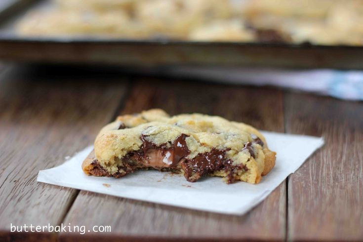 soft batch style chocolate chip cookies recipes dishmaps soft batch ...