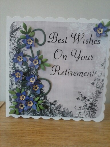 Retirement card | Cards-Floral | Pinterest