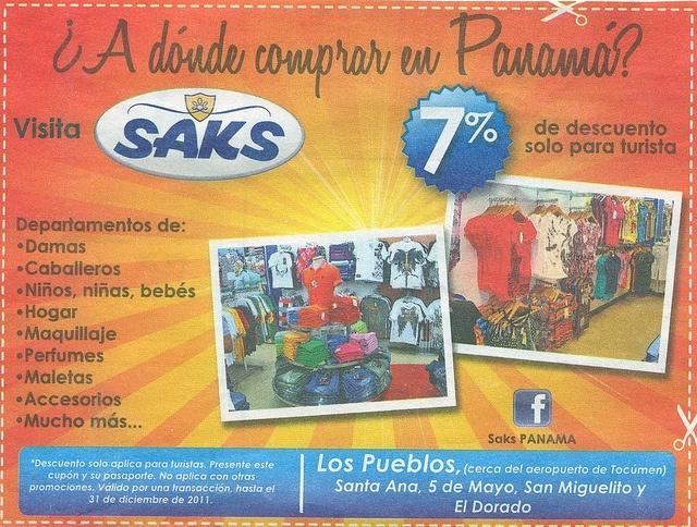 Panama City shopping ad