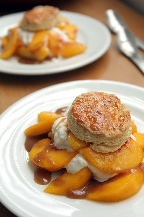 Peach Shortcake | Recipe