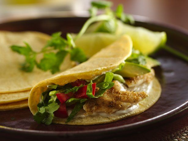 Grilled Fish Tacos #MeatlessMonday