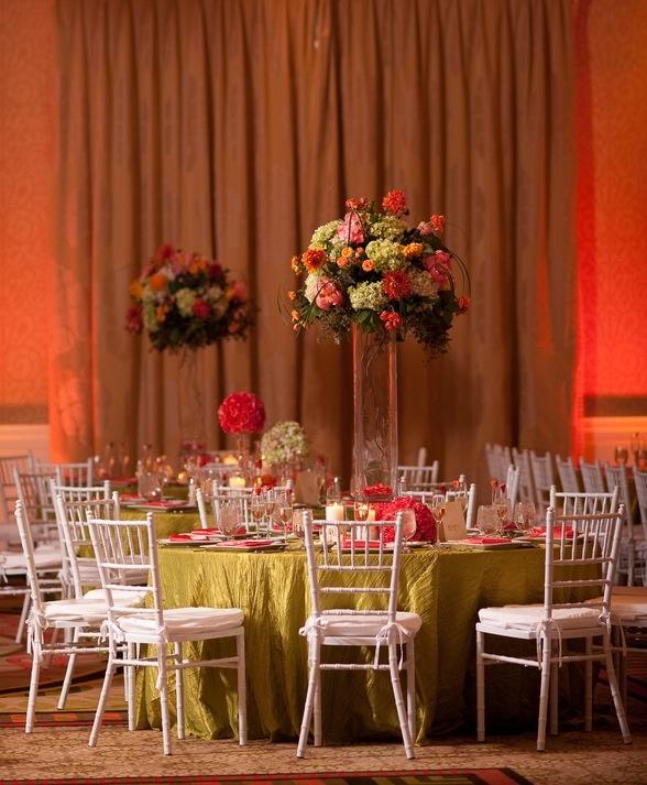 розовый и салатовый тематические свадьбы / / Julie пивовар фотографии